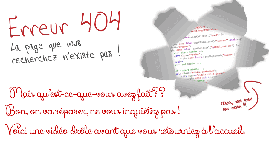 404 - Oups !!!